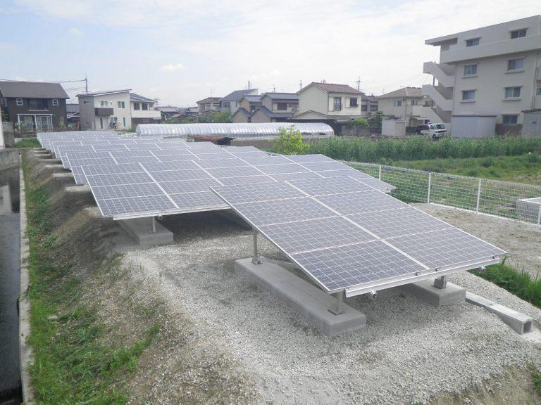 明石市海渡太陽光発電所