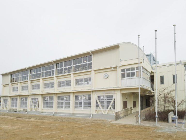 明石市立大観小学校屋内運動場耐震補強