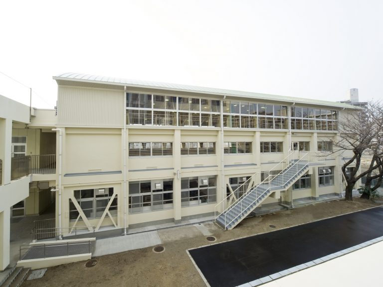 明石市立大観小学校屋内運動場耐震補強(2)